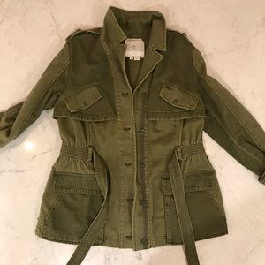ANTHROPOLOGIE- HEI HEI - WOMENS UTILITY JACKET